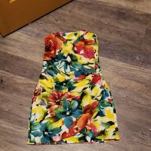 Speechless Dresses - Beautiful flower tube dress